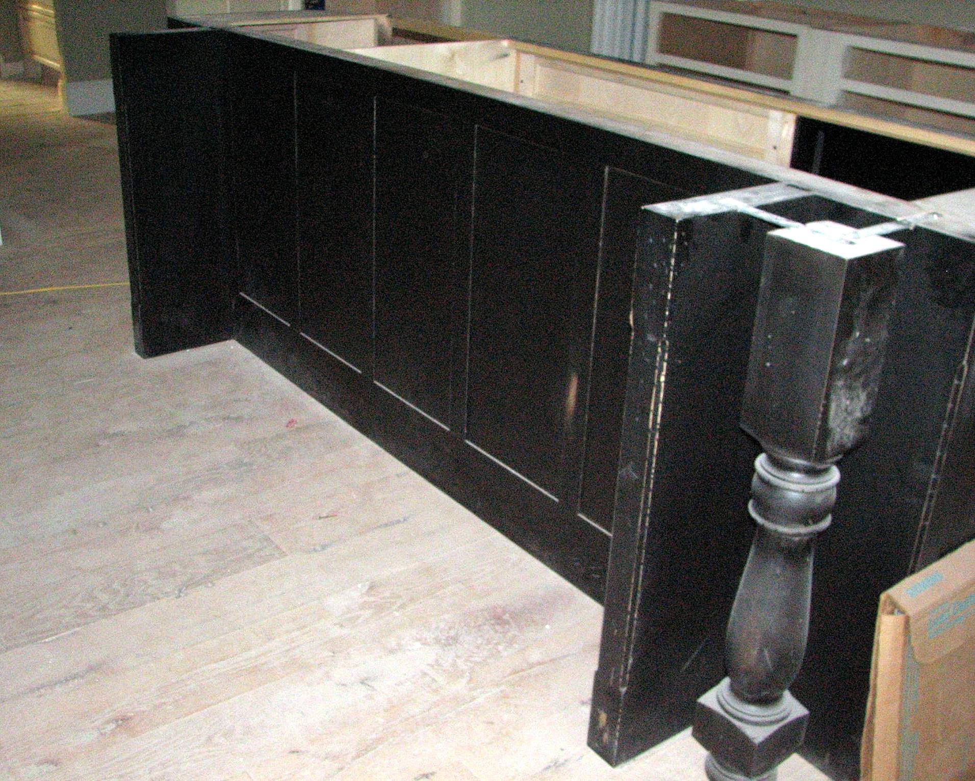 Amazing Kitchen Island Construction