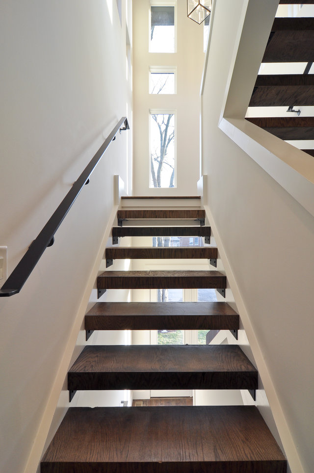 Open Staircase Bynum Design Blog