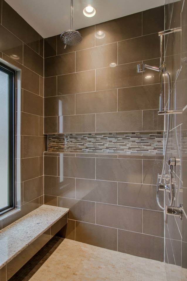 Shower with window - Bynum Design Nashville