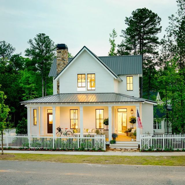 Elements of farmhouse style bynum design blog for New farmhouse style homes