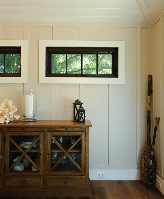6 types of wood paneling to consider for your interiors for How to paint wood windows interior