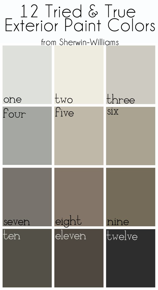How to pick an exterior paint color bynum design blog - How to choose paint colors for house exterior property ...