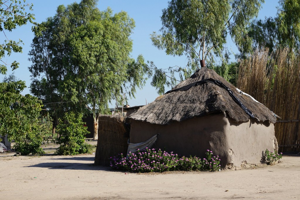Mud Hut in South Africa