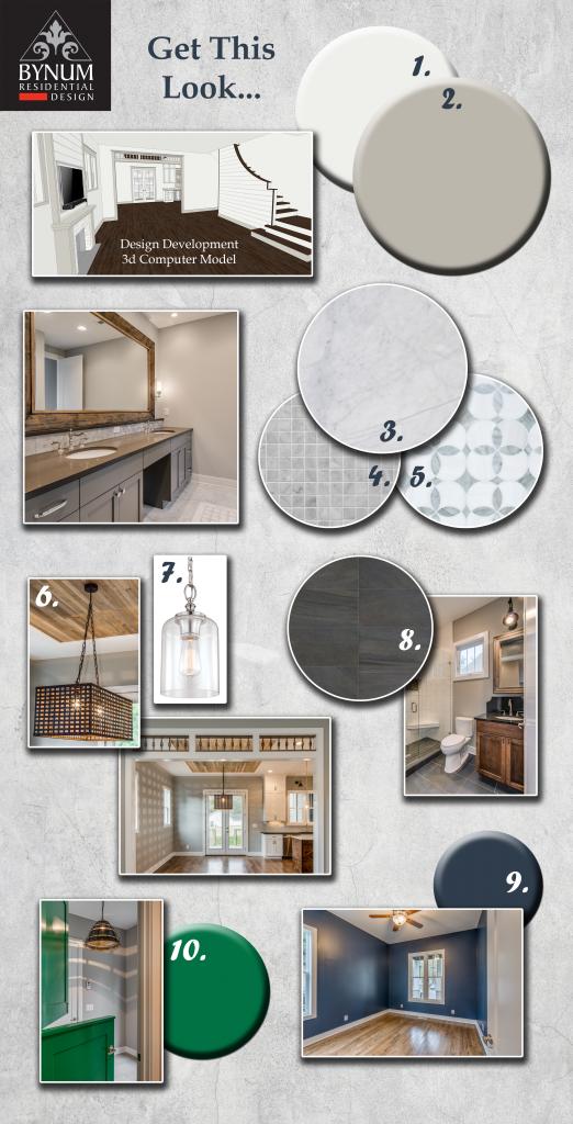 Bynum Design concept board
