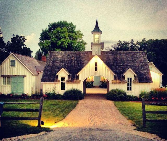 cupola on farmhouse